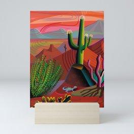 Gila River Landscape Mini Art Print