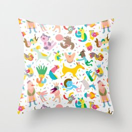 Party! Throw Pillow
