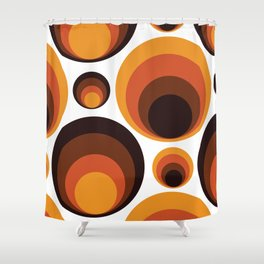 Back To The 70's Shower Curtain