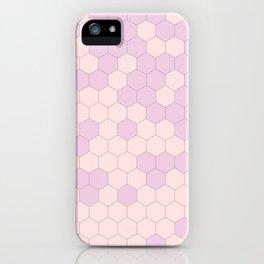 Hex Pink iPhone Case
