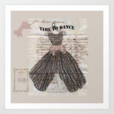 Time to Dance Art Print