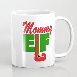 Santa's Mommy Elf Coffee Mug