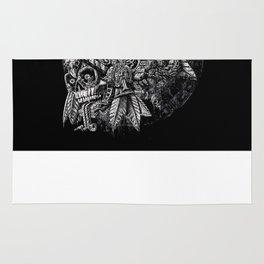Aztec Great Lizard Warrior 1 (Triceratops) Rug