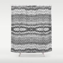 Missoni Style Mono Shower Curtain