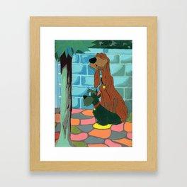 Jock & Trusty Framed Art Print