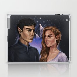 High Lord and Lady of the Night Laptop & iPad Skin