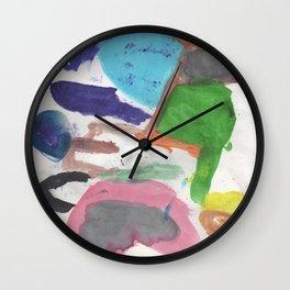 Colors 1 Wall Clock