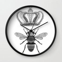 Queen Bee Harmony Wall Clock