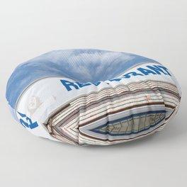 Open 24 Hours. Floor Pillow