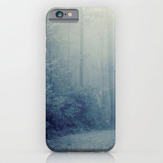 Wander in a Woodland Fog iPhone & iPod Case