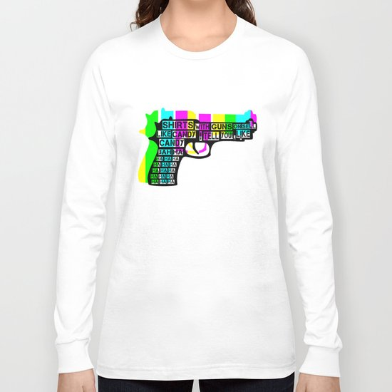 Guns and Candy Long Sleeve T-shirt