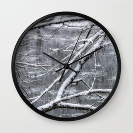 Winter's Song Wall Clock