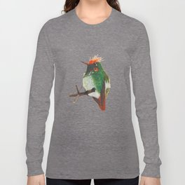 Rufous-crested Coquette Long Sleeve T-shirt