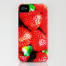 STRAWBERRY for IPhone iPhone (4, 4s) Slim Case