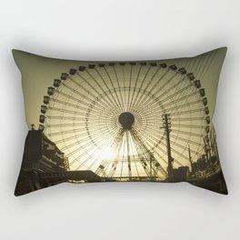 Big wheel & sun Rectangular Pillow