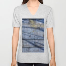 Shadowed Panels Unisex V-Neck