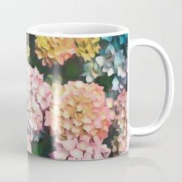 Hydrangea Pattern III Coffee Mug