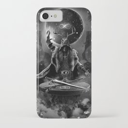 I. The Magician Tarot Card Illustration iPhone Case