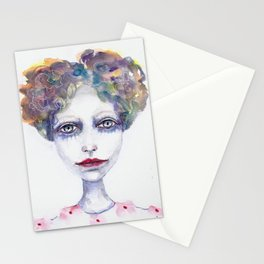 Watercolour Woman Stationery Cards