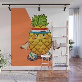 pineapple kid Wall Mural