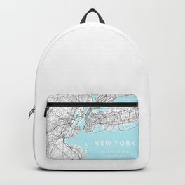 New York City Map Backpack