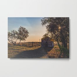 Abandoned Farmstead, North Dakota 2 Metal Print