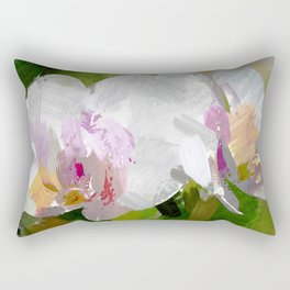 Orchideen Rectangular Pillow