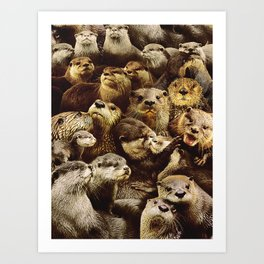 Otters Kunstdrucke