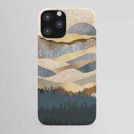 Golden Vista iPhone Case