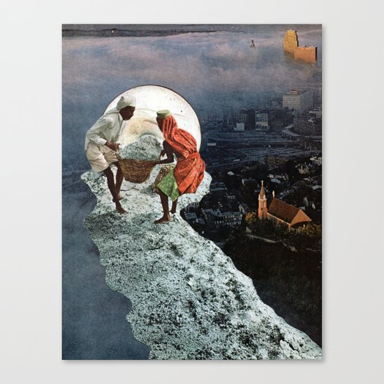 The source of life Canvas Print