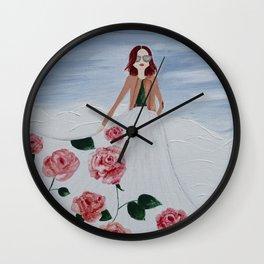 65 ROSES Wall Clock