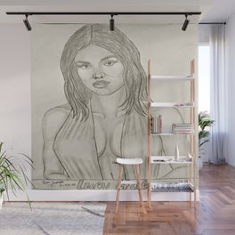 Lucy Hale by Ryan Reynolds Wall Mural
