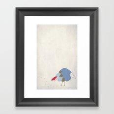 Bird prints Framed Art Print
