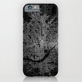 minneapolis map iPhone Case