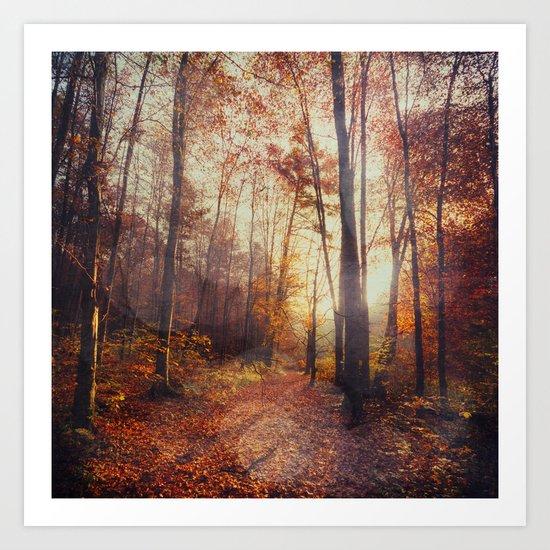 Red October Art Print