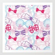 Bows Art Print