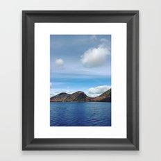 Wild Acadia Framed Art Print