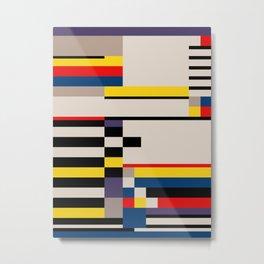 Asymmetry Metal Print