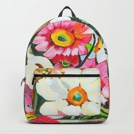 Yellow Gerbera Backpack