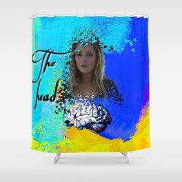 Clarke: the head Shower Curtain