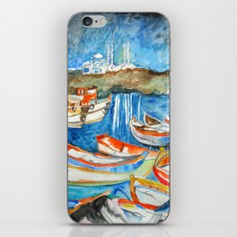 Night Sea Istanbul iPhone Skin