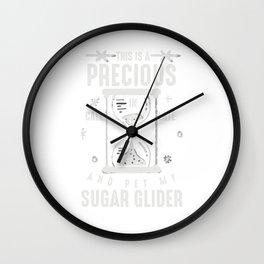Sugar Glider Flying Squirrel Omnivorous Nature Arboreal Animal Wildlife Gift Wall Clock
