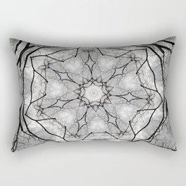 Maine Maple Mandala Rectangular Pillow