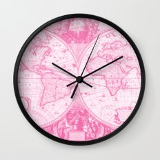 Positively Pink Wall Clock