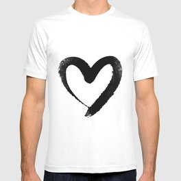 Ink Heart Minimal Fashion Stylish T-shirt
