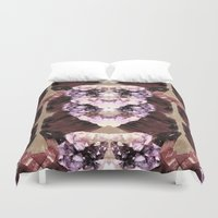 minerals Duvet Covers featuring Mira Minerals by lalaprints
