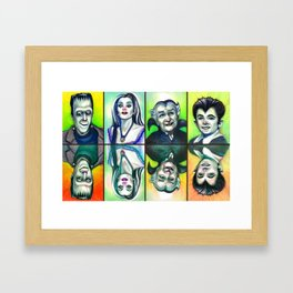 The Munsters Framed Art Print