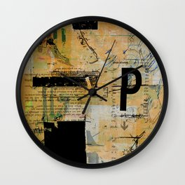 misprint 55 Wall Clock