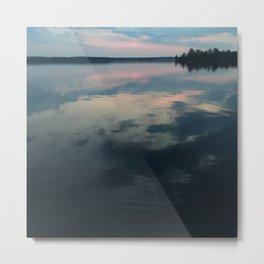 Sunrise Water Metal Print