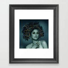 Gorgon Medusa Framed Art Print